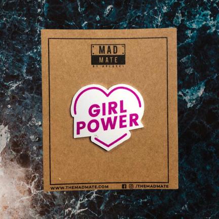 MM1163 GIRL POWER Metal Pin