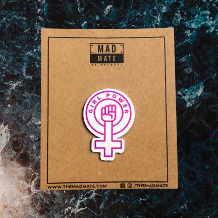 MM1167 GIRL POWER Metal Pin