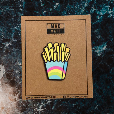 MM1213 Fries Metal Pin