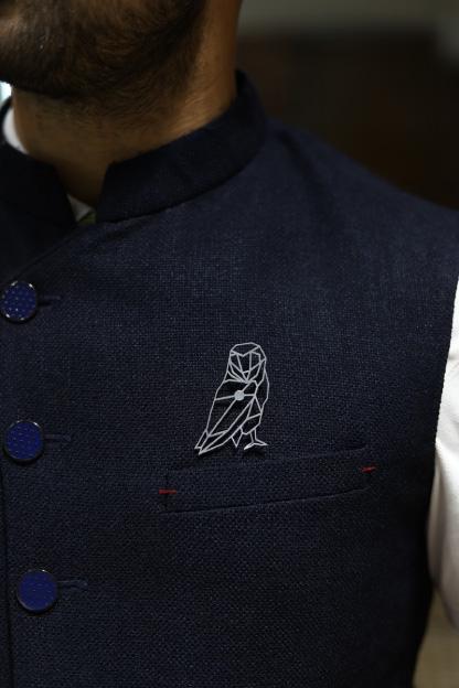 MM1194 OWL Metal Brooch